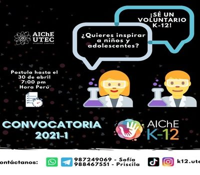 Call for Volunteering AIChE K-12