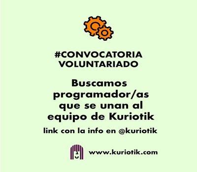 Call for Volunteering Kuriotik
