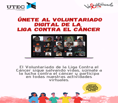 Call for Volunteering of the Peruvian League Against Cancer