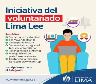 """Call for Volunteering """"Lima Lee"""""""