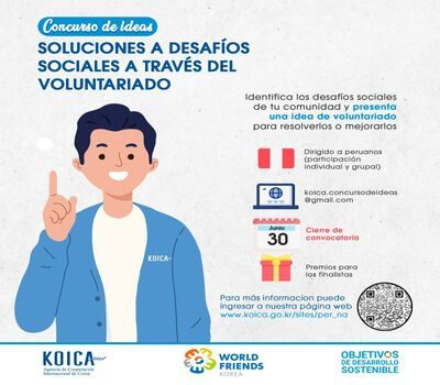 """Ideas contest """"Solutions to social challenges through volunteering"""""""