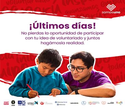 "Volunteer contest ""Peru we are one"""