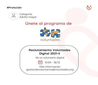 Call Voluntades Digital 2021-II
