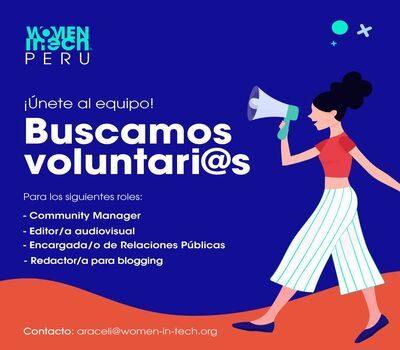 Call for Women in Tech Peru