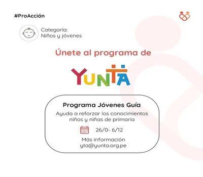 Yunta Volunteer Call