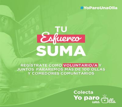 Call for Digital Volunteering: Yo Paro una Olla