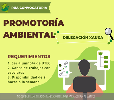 """Call for Volunteers """"Environmental Promotion"""""""